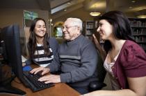 Internet für Senioren www.seniorentown.de